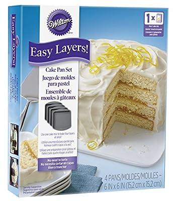 Easy Layers! Layer Cake Tins Set
