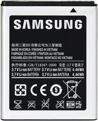Samsung EB494353VU Galaxy Mini Battery Original OEM - Non-Retail Packaging - Grey  available at amazon for Rs.1792