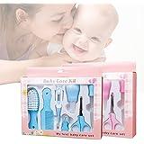 8 pcs Estuche de cuidados y salud para bebe GZQES Cuida del bebe,Color Azar