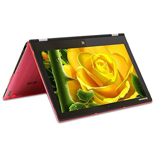 "mCover Hartschalen für Lenovo Ideapad Yoga 700-29,46 cm (11,6 Zoll) und Lenovo Yoga 300 29,46cm (11,6 Zoll) (11.6"" Yoga 700/Yoga 3, Rosa)"