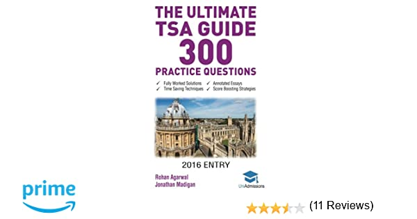 The Ultimate TSA Guide- 300 Practice Questions: Fully Worked ...