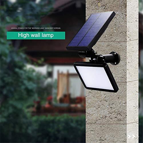 Solar Zaun Lichter Garten, Solar Led Outdoor Security Wandleuchten, Hof Und Auffahrt Weg, Zaun, Terrasse, Haustür, Treppe, Landschaft, Weiß