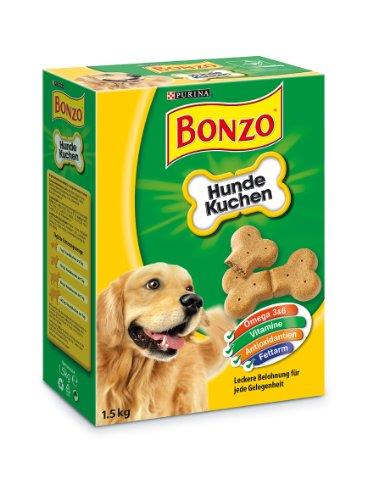 Bonzo Hundekuchen Hundesnack Belohnung Leckerlie 1.5 kg