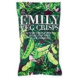 2x Emily Veg Chips Knusprig Französisch Bohnen, Zuckerschoten & Black Edamame 80G