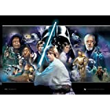 Star Wars - 3D Poster Cast