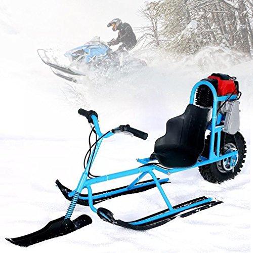 maistore E-Skifahren Fahrzeug Single Board Kraftstoff Schneemobil gerichtete Schnee Schlitten Skifahren Boards für Kinder Geräte