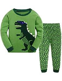 bac9040c6d TEDD Boys Pyjamas Dinosaur Nightwear Cotton Toddler Clothes Kids Sleepwear  Winter Long Sleeve Christmas Pjs Sets