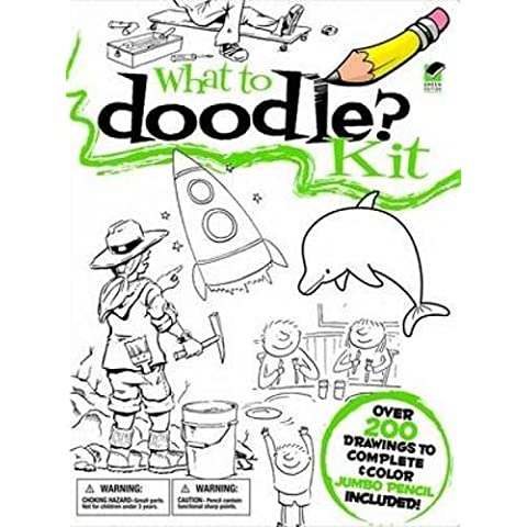 What to Doodle? Kit (Dover Fun Kits) (English and English Edition) by Dover (2011-05-19)