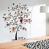 Svsnm 100 * 120 cm / 40 * 48In 3D DIY Abnehmbare Foto Baum PVC Wandtattoos/Klebstoff Wandaufkleber Wandbild Kunst Wohnkultur