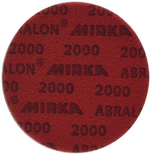 Mirka 8a-241-2000Abralon 15,2cm 2000Körnung schaumbeschichtet Klettverschluss Haken & Schleife Polieren & Scheiben, 8a-203-2000Box von 20Scheiben