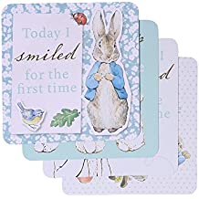 Peter Rabbit baby's first milestone cards
