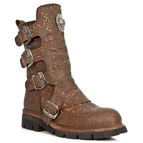 Rock 1471 S23 New Comfort Brown Stiefel M Light Braun vdgxYqd