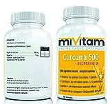 CURCUMA + Pipérine Extra Fort: Booste La Digestion, Aplatit le Ventre, Soulage les Douleurs, Anti-inflammatoire Efficace - COMMANDEZ 3 POUR LIVRAISON GRATUITE
