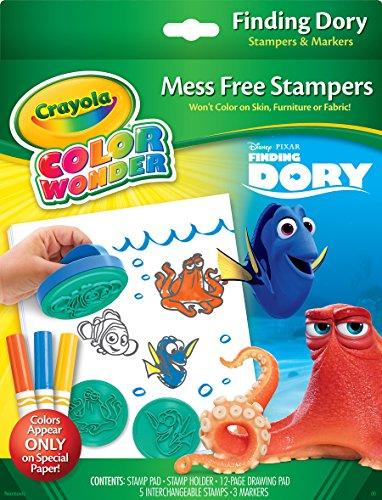 Crayola Finding Dory Color Wonder Stempel- & Papier-Set (Color Wonder Mini)