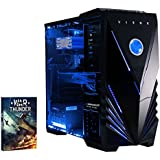 Vibox Apache 9 Gaming PC - with Warthunder Game Bundle, Windows 10 (4.1GHz AMD FX Six Core Processor, Nvidia Geforce GTX 960 Graphics Card, 1TB Hard Drive, 16GB RAM, Vibox Tactician Blue LED Case)