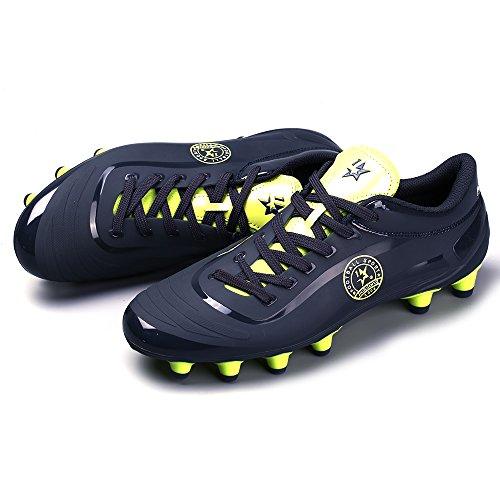 Aleader  Performance, Chaussures de football pour garçon Bleu Marine