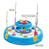 #3: Toykart Go Go Fishing Electric Rotating Magnetic Fishing Game with the Music Lights - Assorted Colors