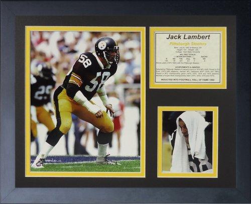 Legends Never Die Jack Lambert, mit Rahmen für Foto-Collage, 11x 14-inch (11 Foto-collage-rahmen)