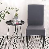 MAIAMY La Chaise de Couleur Solide Couvre la Caisse de Protection de Chaise de...