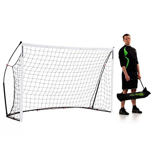 QUICKPLAY Kickster Academy Tragbares 2,4 x 1,5m Fußballtor - 4