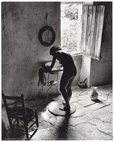 Poster 24X30CM Provençal Nude, Gordes, 1949/Provence Nude, Gordes, Willy Ronis (19491910-2009)