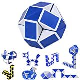 SEWORLD 2017 Cool Twist Snake Magic Popular Kids Toys Game Transformable Gift Puzzle (A, Blue)