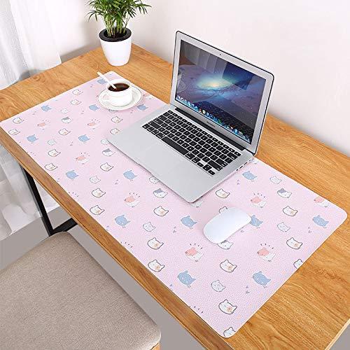 ETbotu Computer Schreibtisch Mat,Mode Muster übergroße Präzision Pro Gaming Mouse Pad Süße Katze 900x420