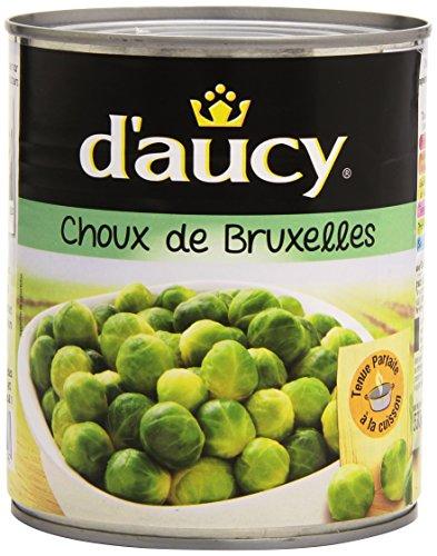 D'Aucy Choux de Bruxelles 800 g