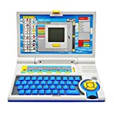 #8: Gooyo English Learner Educational Laptop for Kids, Multi Color