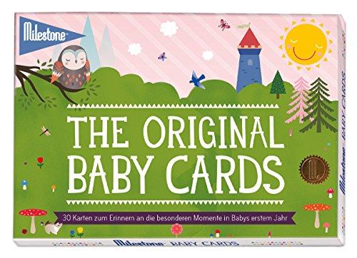 Preisvergleich Produktbild Milestone Baby Cards - Deutsche Version, 30 Karten im Set, einzeln verschweißt