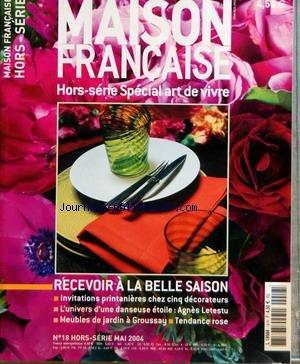 Agnes Letestu - MAISON FRANCAISE du 01/05/2004 - SPECIAL ART