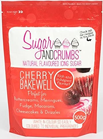Cherry Bakewell Natural Flavoured Icing Sugar for Cakes and Bakes