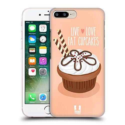 Head Case Designs Gaufrette Au Chocolat Cupcakes Du Bonheur Étui Coque D'Arrière Rigide Pour Apple iPhone 6 Plus / 6s Plus Gaufrette Au Chocolat