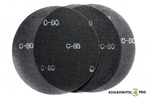 5 Stück SANDERSHARK Schleifgitter 406 mm SIC Korn 180 Markenqualität