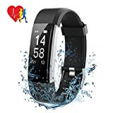 Mpow PAGEBH144AB-UKAA2 Orologio Fitness Tracker, Activity Tracker IP67...