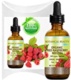 Botanical Beauty Red Raspberry Seed Oil Organic. 100% Pure / Natural / Undiluted / Virgin / Unrefined Cold Pressed Carrier Oil. 0.5 Fl.oz.-15 ml. For Skin, Hair, Lip And Nail Care. 'One Of The Highest Anti-Oxidant, Rich In Vitamin A And E, Omega 3, 6 And 9 Essential Fatty Acids'.