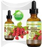Botanical Beauty - Rotes Himbeersamen Öl 100% Rein Kaltgepresst Unverdünntes Träger Öl für Haut, Haar, Lippen und Nägel 15ml - Reich an Vitamin A und E, Omega 3 6 und 9 und Fettsäuren