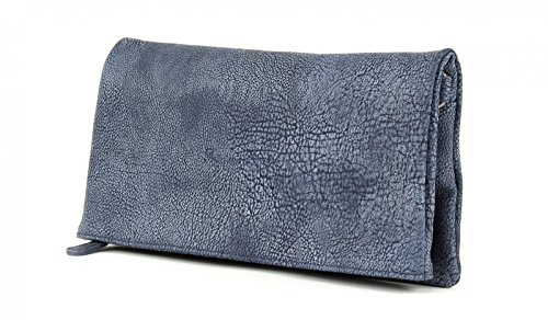 Fritzi aus Preußen Ronja Clas 2D Clutch Umhängetasche 30 cm Blau