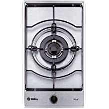 Balay 3EMX3091B Integrado Gas hob Plata hobs - Placa (Integrado, Gas hob, Plata, 3600 W, 288 mm, 505 mm)