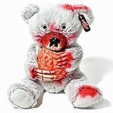 Zombie Teddy Original XXL die Halloween Teddybär Undead-Teds Evolution für alle Splatter & Horror Fans; Frisst Gehirn