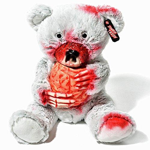 Zombie Teddy Original XXL die Halloween Teddybär Undead-Teds Evolution für alle Splatter & Horror Fans; Frisst Gehirn (Ted Baby Kostüm)