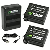 Wasabi-Power-Battery-(2-Pack)-and-Dual-Charger-for-GoPro-HERO4-and-GoPro-AHDBT-401,-AHBBP-401