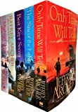 The Clifton Chronicles Series Collection 5 Books Set By Jeffrey Archer, (Best Kept Secret, Be Careful What You Wish For, Only Time Will Tell, The Sins of the Father and Mightier than the Sword)
