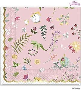 Procos servilleta 33cm 3Velos True Princess, Multicolor, 5pr89901