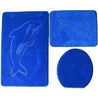 PVC Motiv Delfin MSV 140186/Badewannenmatte 55/x 55/x 0,1/cm