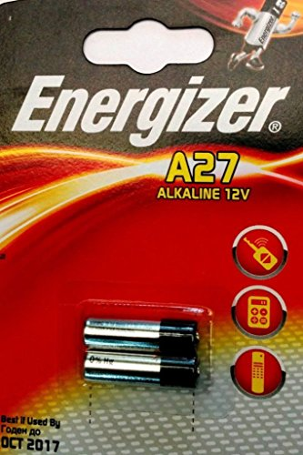 ENERGIZER Lot de 5 Blisters de 2 Pile Alcaline A27/E27A 12V