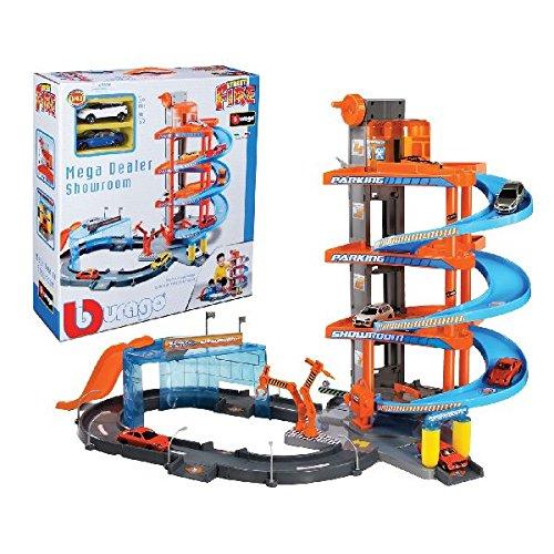 Burago - 30031 - Radio Commande - Véhicule Miniature - Garage Mega Dealer - Echelle 1:43 4893993300310