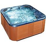 Whirlpool - spa 6 places - acrylique haute qualité bleu - Sanremo