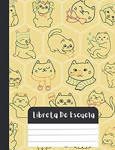 libreta de escuela: Kawaii cat