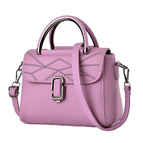 Piccola Borsa Femminile Marea Femmina Versione Coreana Della Nuova Piccola Fragranza Moda Spalla Messenger Bag Purple